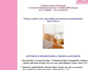 Telefono Rosa Piemonte maggio
