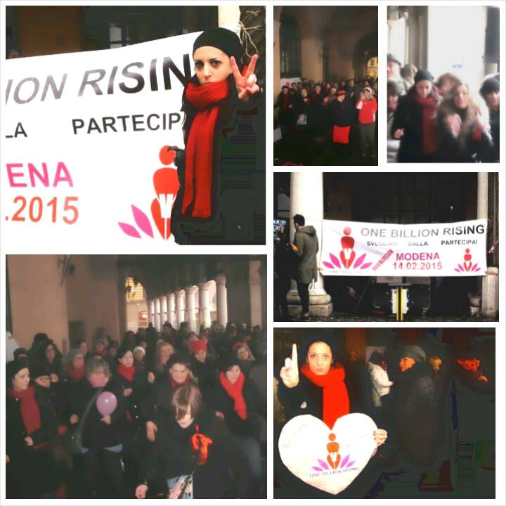 One Billion Rising Rossella Diaz