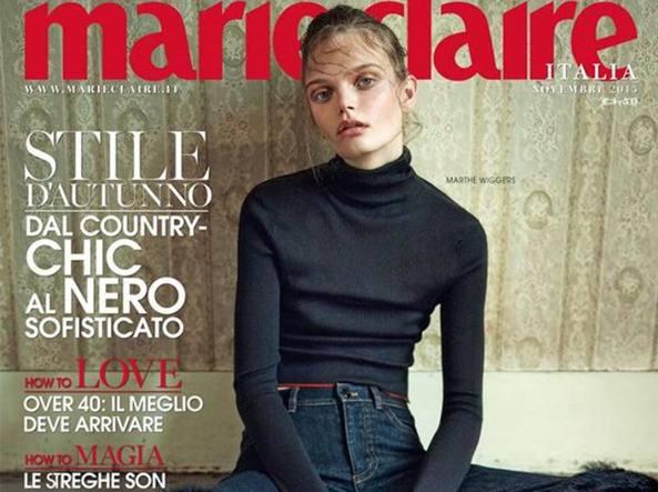 Copertina rivista Mariclaire novembre 2015